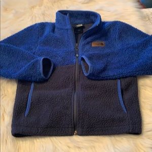 The North Face Boys Small Fleece Jacket EUC